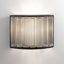 Moderne Wandleuchte / Glas / LED / gebogen