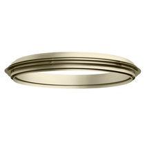 Hängeleuchte / LED / rund / aus anodisiertem Aluminium