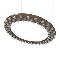 Hängeleuchte / Einbau / LED / rund