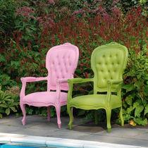 Neobarock-Sessel / Polyurethan / Außenbereich