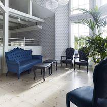Neobarock-Sofa / Außenbereich / Polyurethanschaum / 3 Plätze