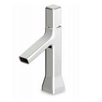 Waschtisch-Einhebelmischer / aus Messing / aus Chrom / für Badezimmer