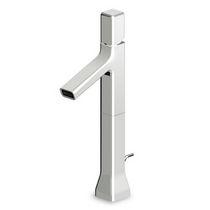 Waschtisch-Einhebelmischer / verchromtes Metall / aus Messing / für Badezimmer