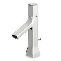 Waschtisch-Einhebelmischer / aus Chrom / aus Messing / für Badezimmer