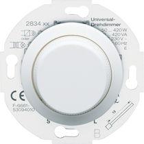 Lichtdimmer / Drehknopf / aus Kunststoff / modern