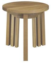 Moderner Satztisch / aus Eiche / Nussbaum / geöltes Holz