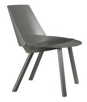 Moderne Liege / Stoff / Leder / geformtes Sperrholz