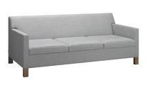 Modernes Sofa / aus Eiche / Nussbaum / Massivholz