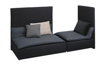 Modulierbares Sofa / modern / Leder / Polyester