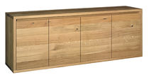 Modernes Sideboard / lackiertes Holz / aus Eiche / Massivholz