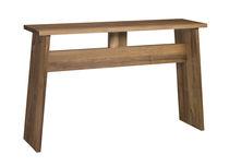 Moderner Konsolentisch / Massivholz / gebeiztes Holz / geöltes Holz
