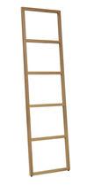 Leiter-Handtuchhalter / mehr als 3 Stangen / mit Fußgestell / Massivholz