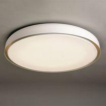 Moderne Deckenleuchte / rund / Metall / LED