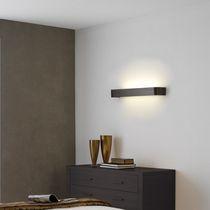 Moderne Wandleuchte / Glas / Holz / LED