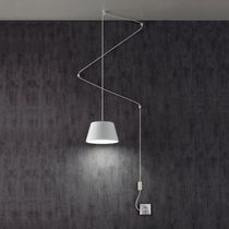 Hängelampe / originelles Design / Metall / aus Acrylglas