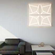 Aufbauleuchte / LED / quadratisch / aus PMMA