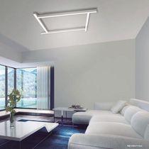 Deckenleuchte / originelles Design / linear / Aluminium / aus Polycarbonat