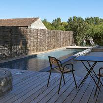 Erdverlegtes Schwimmbecken / Beton / Schwimmbahn / für Außenbereich
