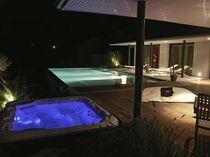 Hot-Tub / Einbau / quadratisch / 2 Plätze