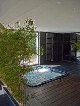Hot-Tub / Einbau / quadratisch / 4 Plätze