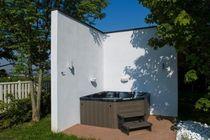 Hot-Tub / zum Aufstellen / für Eckeinbau / 4 Plätze