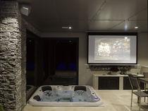 Hot-Tub / Einbau / quadratisch / 5 Plätze