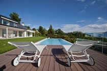 Erdverlegtes Schwimmbecken / Beton / Schwimmteich Überlauf / für Außenbereich