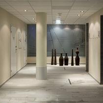 Strahler für Deckeneinbau / für Innenbereich / Halogen / rechteckig