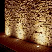 Leuchte für Bodeneinbau / LED / Halogen / rund