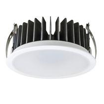 Einbaudownlight / LED / rund / Aluminium