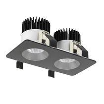 Einbaudownlight / LED / rechteckig / quadratisch