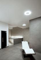Einbaudownlight / fluoreszierend / rund / aus Polycarbonat