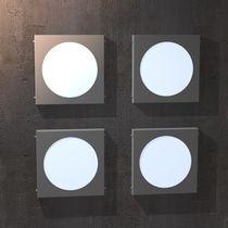 Industriestil-Wandleuchte / Edelstahl / aus Acrylglas / LED