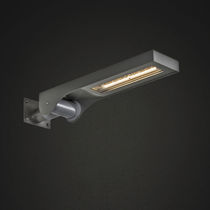 Moderne Wandleuchte / für Außenbereich / Aluminium / Edelstahl