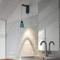 Moderne Wandleuchte / aus Borosilikatglas / LED