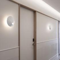 Moderne Wandleuchte / Aluminium / aus Polycarbonat / LED