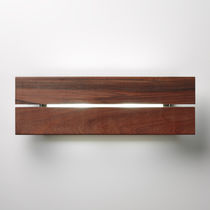 Moderne Wandleuchte / Außen / Holz / Aluminium