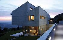 Moderne Wandleuchte / Außen / aus Aluminiumguss / Glas