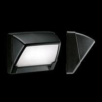 Moderne Wandleuchte / Außen / Aluminium / aus Polycarbonat