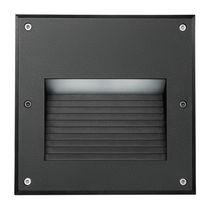 Leuchte für Wandeinbau / LED / quadratisch / Außenbereich