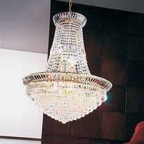 Stillüster / aus Kristall / aus Nickel / Glühlampen
