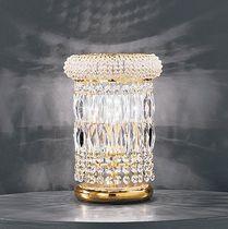 Tisch-Lampe / Stil / für Innenbereich / aus Kristall