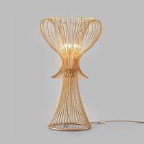 Tischlampe / modern / aus Muranoglas / Metall