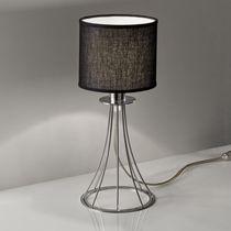 Tischlampe / modern / Stoff / Metall