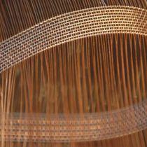 Gewobenes Metall / für Trennwandsysteme / Edelstahl / Kupfer / Langmaschen