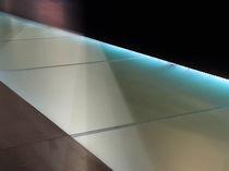 Glasscheibe für Übergang / rutschfest / Float