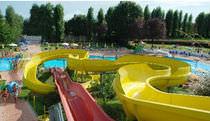 Drehende Rutsche / für Aquapark
