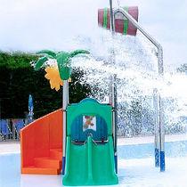 Spielplatzgerät aus Kunststoff / für Aquapark