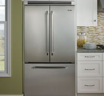 Amerikanisch-Kühlschrank / aus Edelstahl / Energy Star