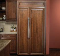 Amerikanisch-Kühlschrank / weiß / Öko / Einbau